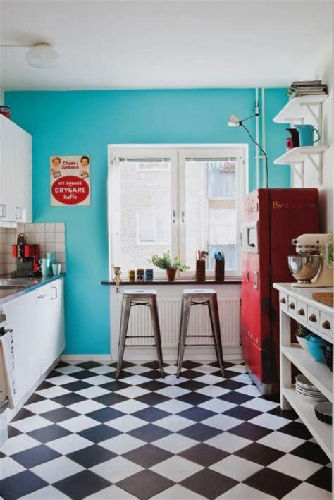 Bodenbeläge Küche Beispiele by Bodenbelag K 252 Che Das Schachmuster Als Ein Klassiker Aus