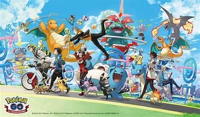 Pokemon Anniversary Players Catch Because Still Them