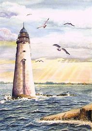 Best 25 Ideas About Lighthouse Paintings