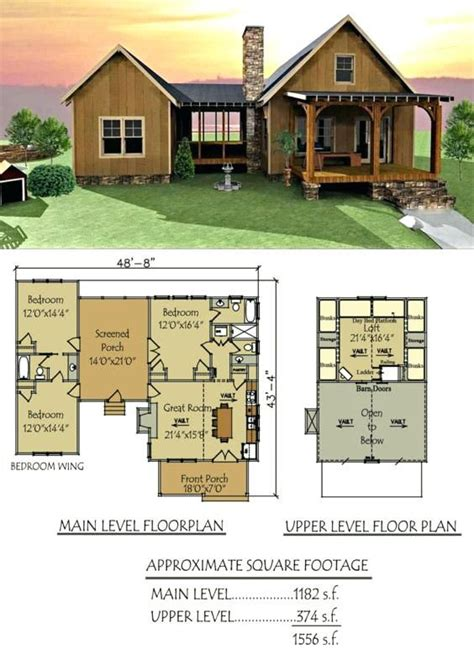 small floor plans cabins dog trot house plan lake cabin floor plans  loft processcodicom