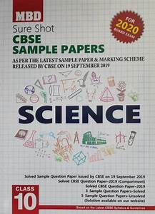 Cbse Science Mbd Guide