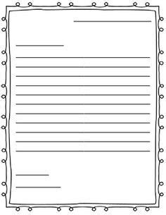 learning  write letters templates google search