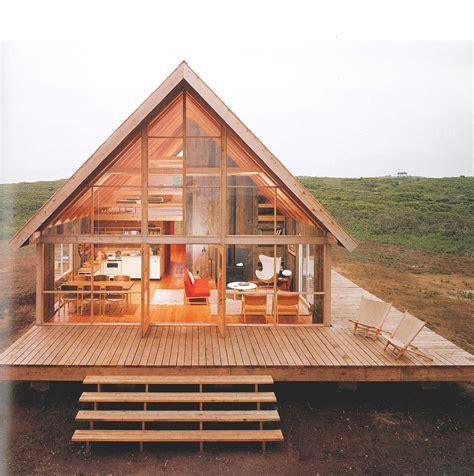 compact timber frame jens risom kit homes modern