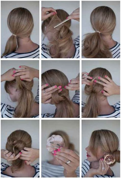 bun hairstyles  pictures   steps