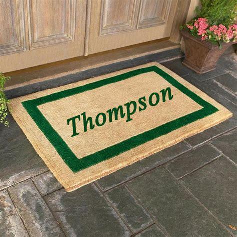 custom door mat personalized coco door mats are personalized coco mats by