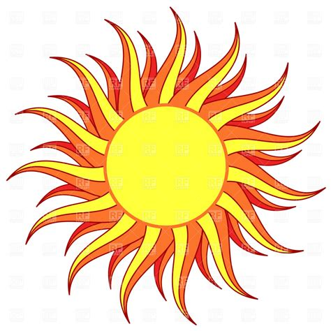 Sun Clipart Sun Vector Image Vector Artwork Of Backgrounds Textures