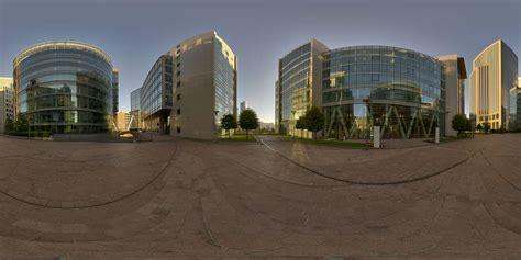 hdr panorama  office courtyard hdri light probe