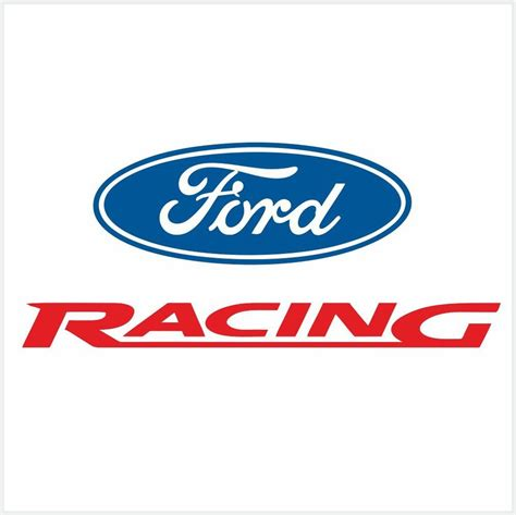 4pcs ford racing logo set decal sticker m1 10 quot 25cm ebay