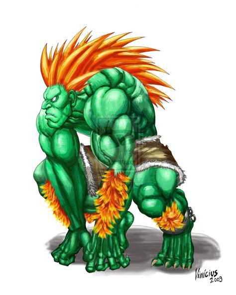 Street Fighter Blanka Blanka Street Fighter Iv By