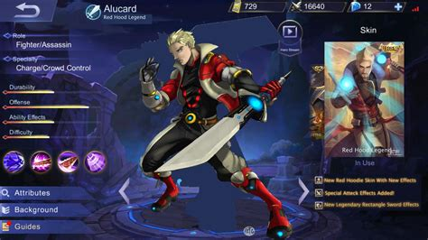mobile legend alucard alucard legendary skin concept made by me mobilelegends