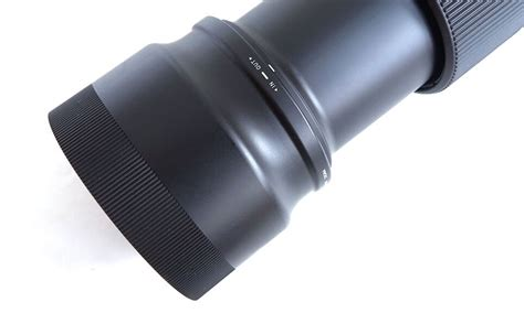 Review Objetivo Zoom Sigma 100400mm Contemporary