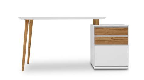 bureau et blanc bureau design bois et blanc mzaol com