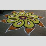 Rangoli Designs With Flowers And Colours | 616 x 352 jpeg 54kB