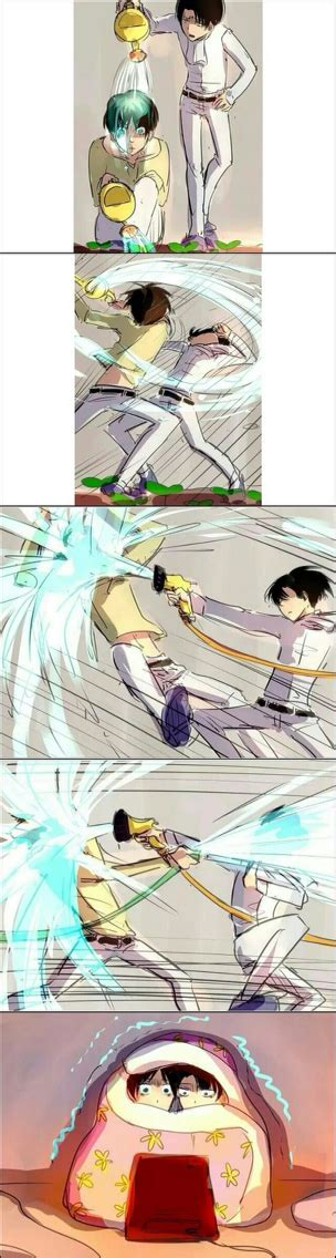 Eren X Levi Attack On Titan  Don't Ship It, But Hahahaha