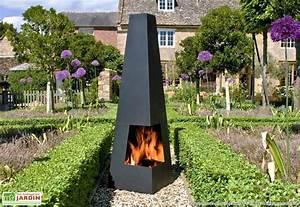 Cheminee D Exterieur : cheminee exterieur moderne ~ Teatrodelosmanantiales.com Idées de Décoration