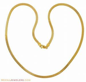 Indian Gold Chain (18 Inch) - ChPl8714 - 22Kt Gold Chain ...