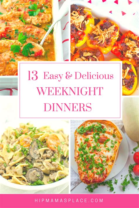easy and delicious dinners hip mama s place networkedblogs by ninua