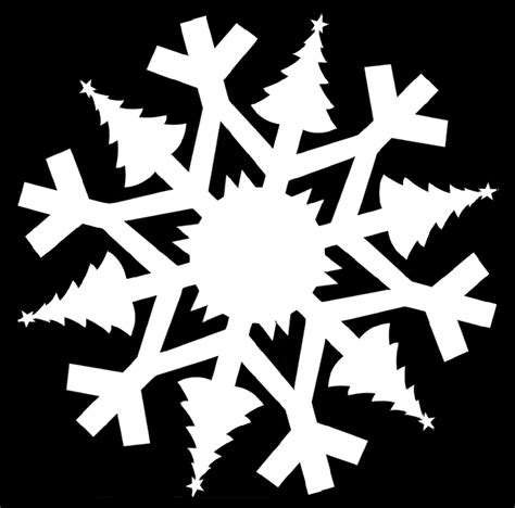 christmas themed paper snowflake templates holidappy