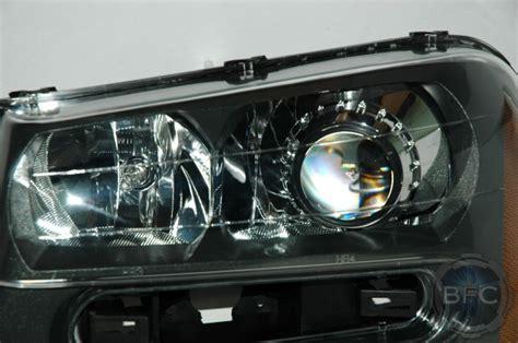 trailblazer headlight package 2005 chevy hid retrofit blackflamecustoms headlights projector