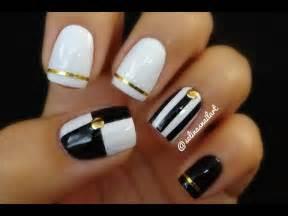 Black and White Nail Art Tape