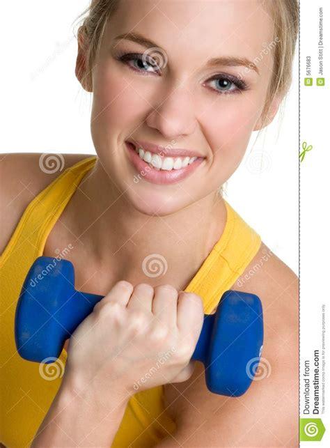 healthy girl stock  image