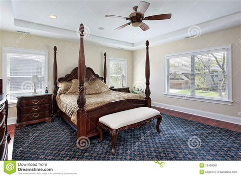 master bedroom  recessed ceiling stock image image
