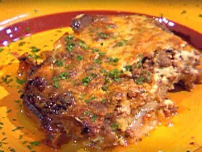 moussaka recipe bobby flay food network