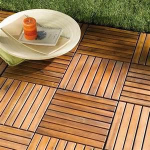Terrasse En Caillebotis : dalle de terrasse bois bangkira pose classique ~ Premium-room.com Idées de Décoration