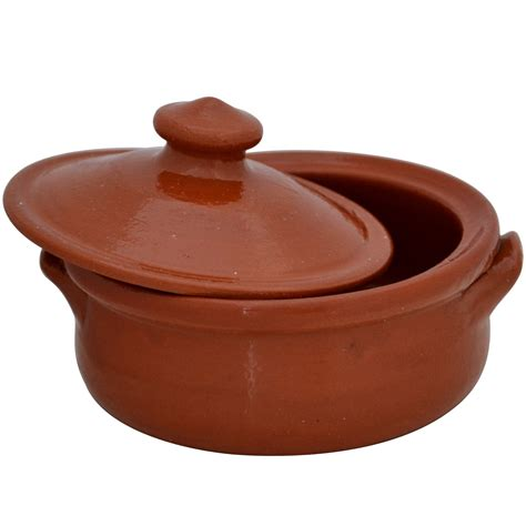 Small Terracotta Cooking Pots