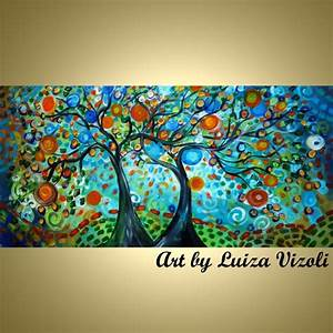 Image Gallery modern abstract tree art