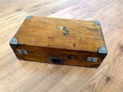 gerät zum holz gravieren erledigt alte vintage uhrenbox strapbox uhrenkasten