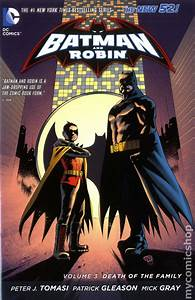 Comic books in 'Batman Death of the Family'