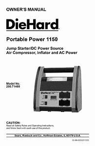 Sears 200 71488 User Manual