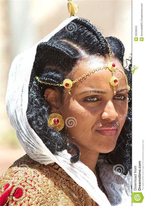 ethiopische vrouw redactionele stock afbeelding