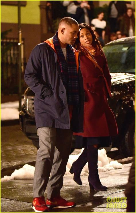 naomie harris will smith movie naomie harris joins will smith on collateral beauty set