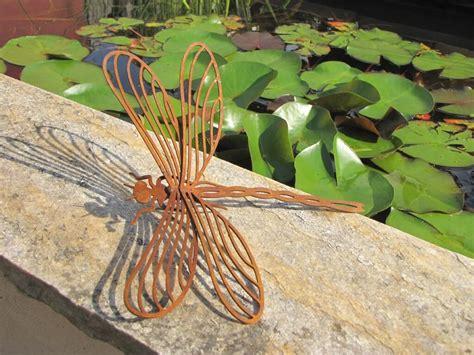 Gartendeko Libelle by Edelrost Libelle Zum Schrauben Garden Dekoshop