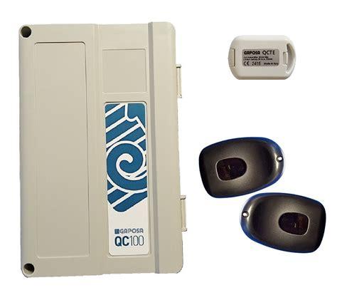 kit centralina per serranda garage gaposa completo di fotocellula e telecomando ebay