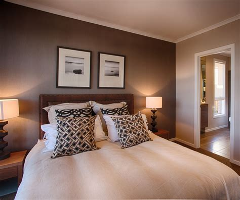 Bedroom Feature Walls by Beautiful Feature Wall Colour In This Master Bedroom I