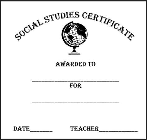 abcteach printable worksheet social studies certificate