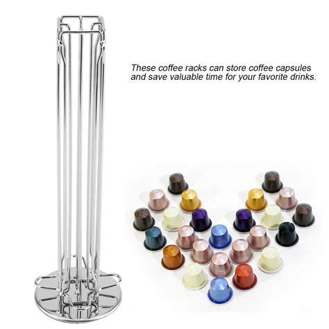 revolving coffee pod holder capsule stand for tassimo dolce gusto nespresso ebay