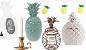 Objet Deco Ananas : d co ananas plus de 20 id es de d coration partir de 3 les bons plans de naima ~ Teatrodelosmanantiales.com Idées de Décoration