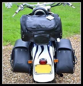 Sac Sissy Bar : sac rool bag leather sissy bar custom motorcycle shadow intruder dragstar virago ebay ~ Teatrodelosmanantiales.com Idées de Décoration
