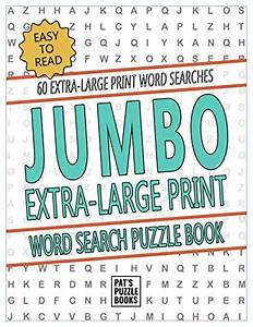 8 Best Word Search Jumbo Print For 2018