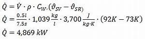 Wärmeleistung Berechnen Formel : formeln und konstanten ~ Themetempest.com Abrechnung
