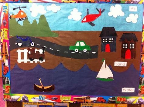 transportation theme bulletin board preschool 404 | e6506f189ff46bfc16b6aa8a658f39d3