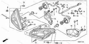 Honda Atv 2005 Oem Parts Diagram For Headlight