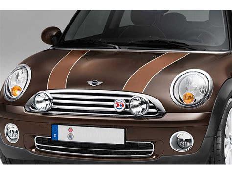 Mini Cooper S Bonnet Stripes Toffee Oem Gen2 R55 R