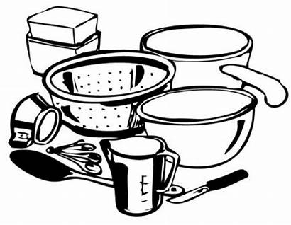 Clip Clipart Cooking Utensils Kitchen Drawing Supplies
