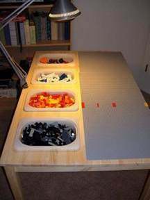 Make Your Own Platform Bed Plans by Brilliant Diy Tables For Storing And Playing With Lego Diy Projects For Everyone