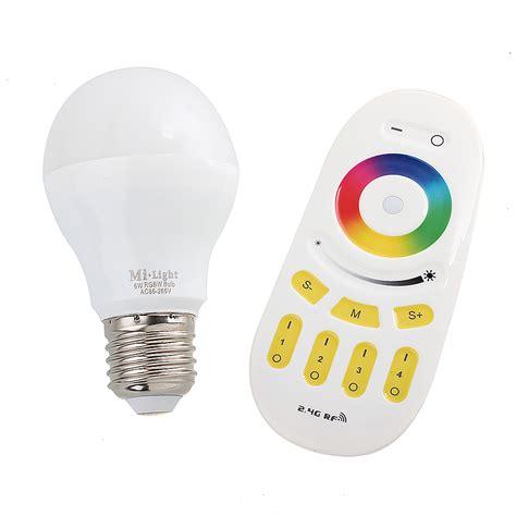 thorfire g1 color changing led light bulb rgb e27 6w 50w